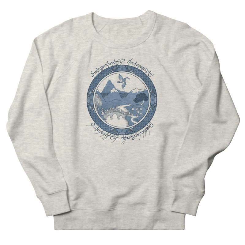 There & Back Again Women's Sweatshirt by joewright's Artist Shop
