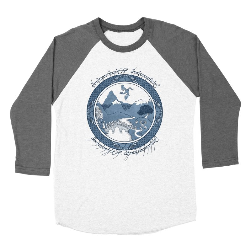 There & Back Again Women's Baseball Triblend T-Shirt by joewright's Artist Shop