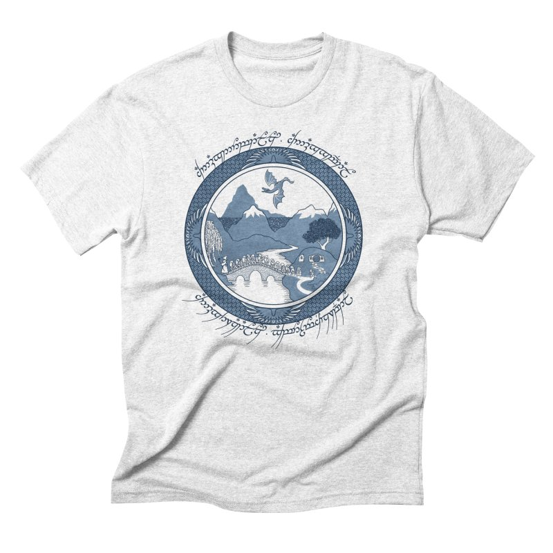 There & Back Again Men's Triblend T-shirt by joewright's Artist Shop