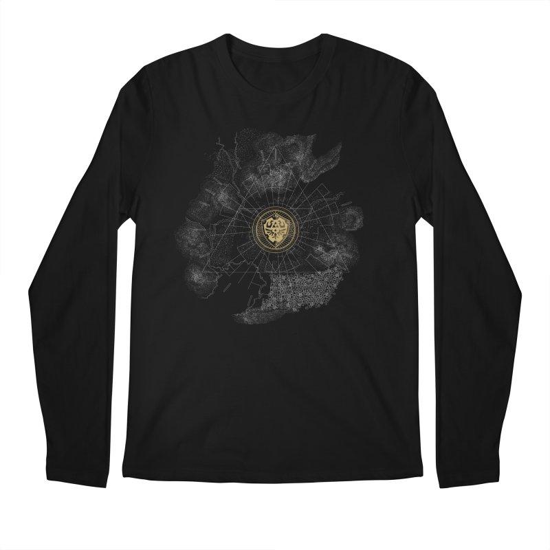 The Hyrulian King Men's Longsleeve T-Shirt by joewright's Artist Shop