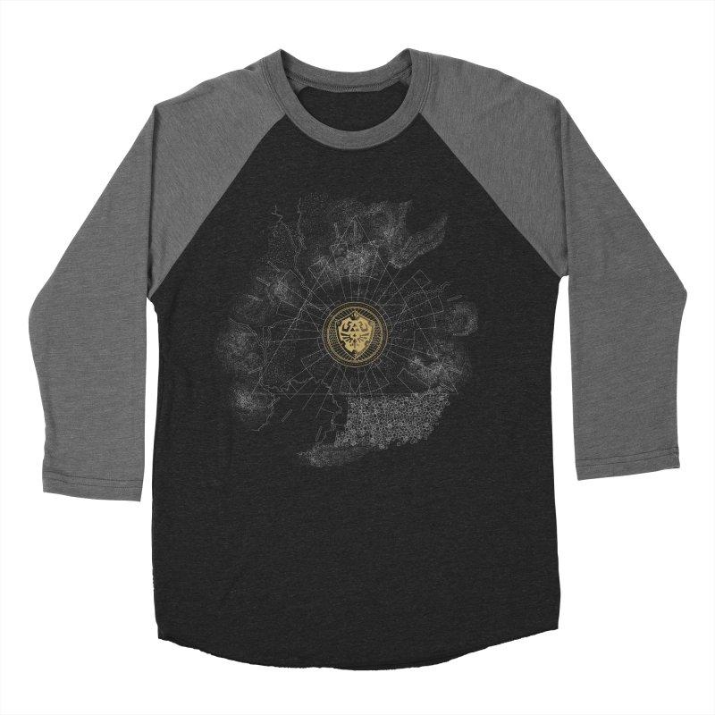 The Hyrulian King Women's Baseball Triblend T-Shirt by joewright's Artist Shop