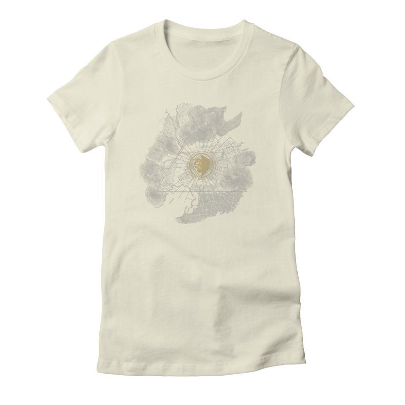 The Hyrulian King Women's Fitted T-Shirt by joewright's Artist Shop