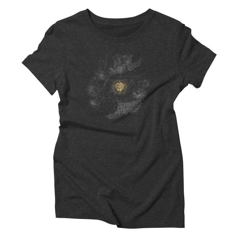 The Hyrulian King Women's Triblend T-shirt by joewright's Artist Shop