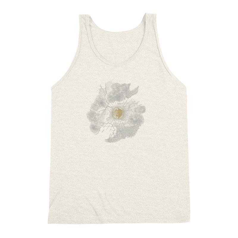 The Hyrulian King Men's Triblend Tank by joewright's Artist Shop