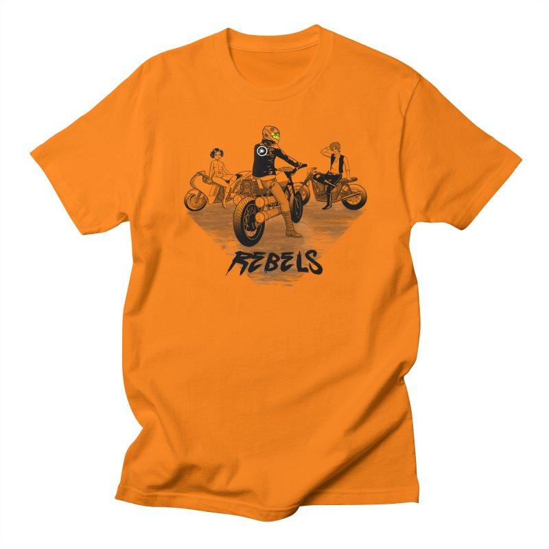 Rebels Men's T-shirt by joewright's Artist Shop