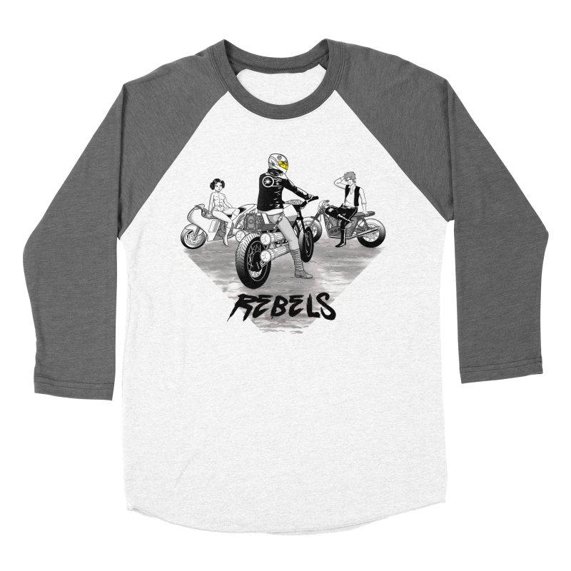 Rebels Men's Baseball Triblend T-Shirt by joewright's Artist Shop
