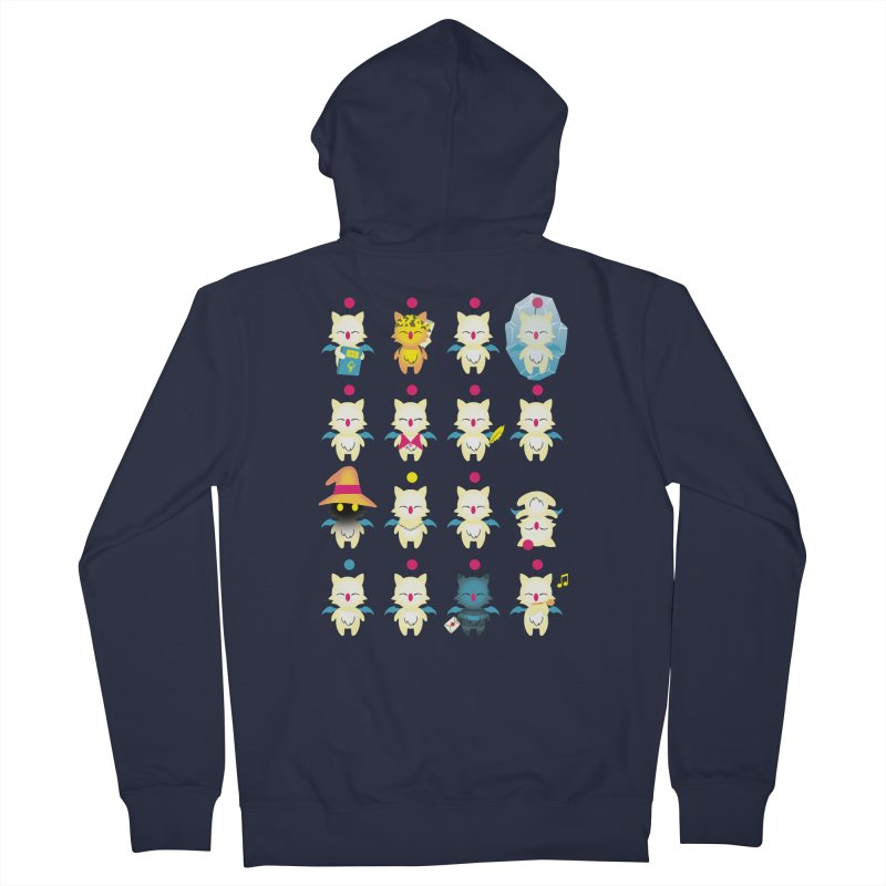 Moogle Medley Women's Zip-Up Hoody by joewright's Artist Shop