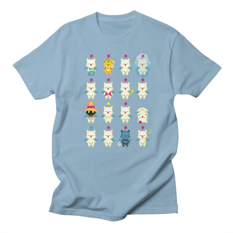 Moogle Medley Men's T-shirt by joewright's Artist Shop