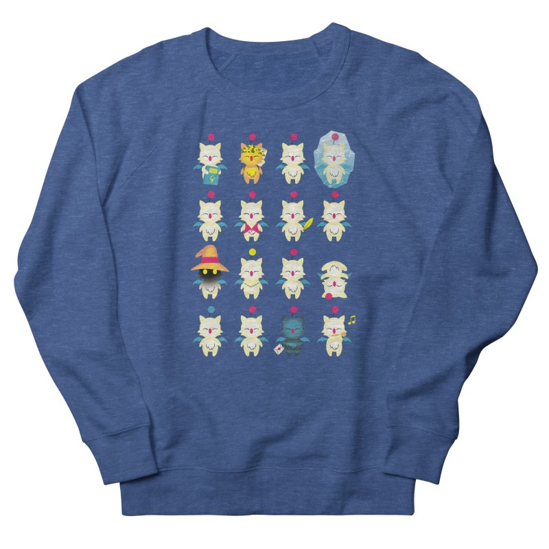 Moogle Medley Men's Sweatshirt by joewright's Artist Shop