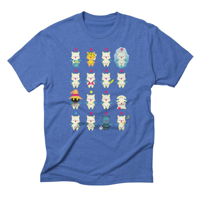 Moogle Medley Men's Triblend T-shirt by joewright's Artist Shop
