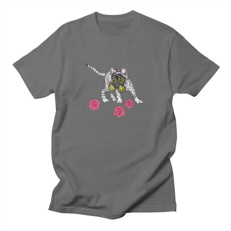 Kitten Men's T-Shirt by John Casey Tees