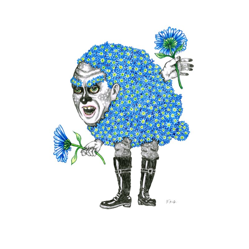 Blue Meanie by John Casey Tees