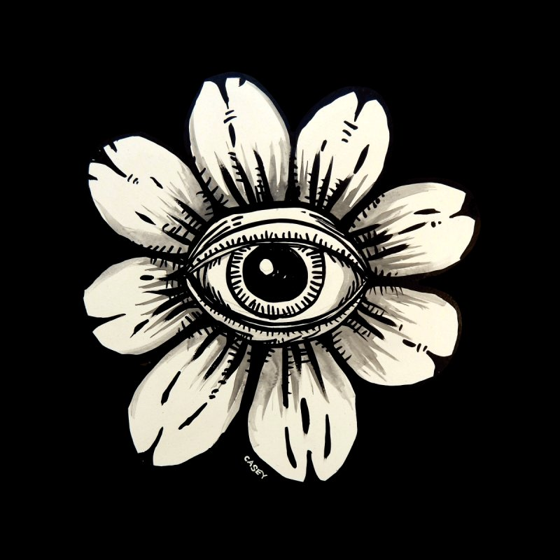 Eyefleur by John Casey Tees