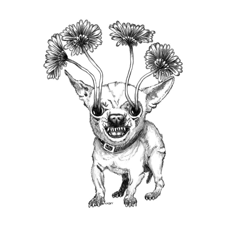 Chihuahua Men's T-Shirt by John Casey Tees