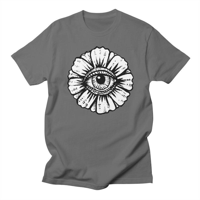 Flower Eye Men's T-Shirt by John Casey Tees
