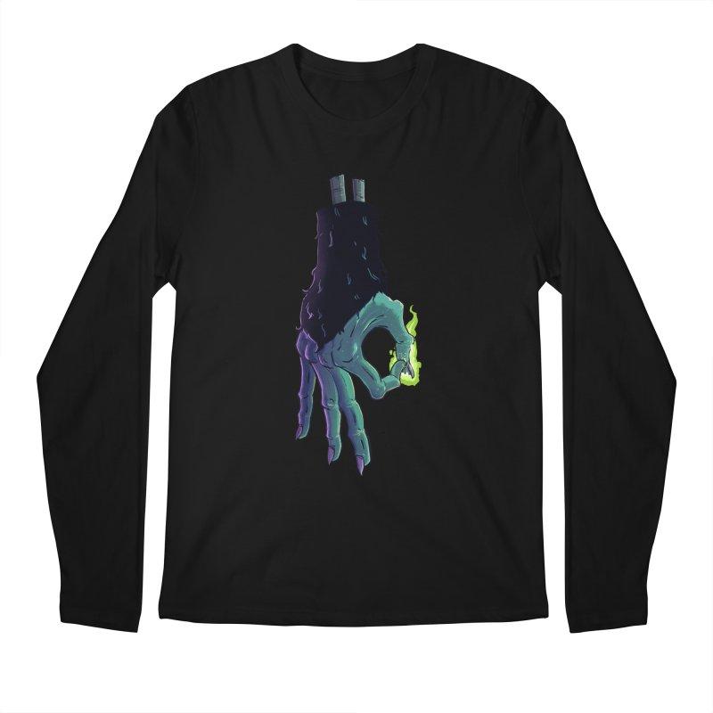 Monkey Paw Okay Men's Regular Longsleeve T-Shirt by John Cottrell