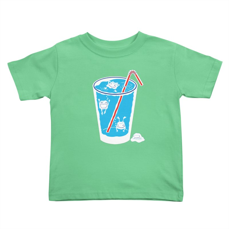 Block Party Kids Toddler T-Shirt by John D-C's Artist Shop