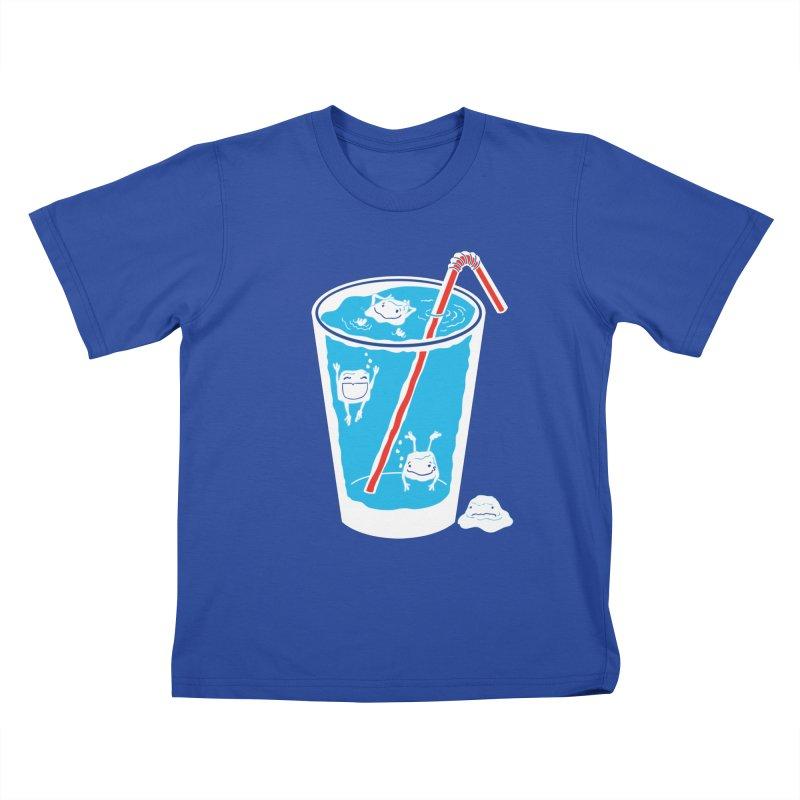 Block Party Kids T-Shirt by John D-C's Artist Shop