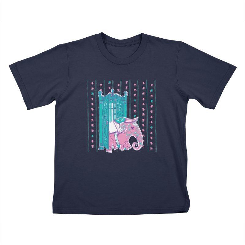 Who Let Lucy Out of the Wardrobe? Kids Toddler T-Shirt by John D-C's Artist Shop