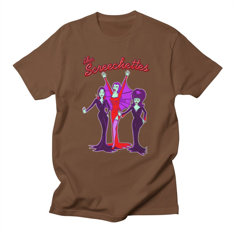 The Screechettes Men's Regular T-Shirt by John D-C's Artist Shop