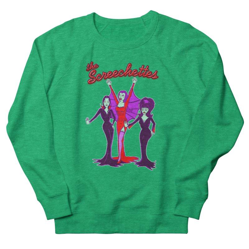 The Screechettes Men's French Terry Sweatshirt by John D-C