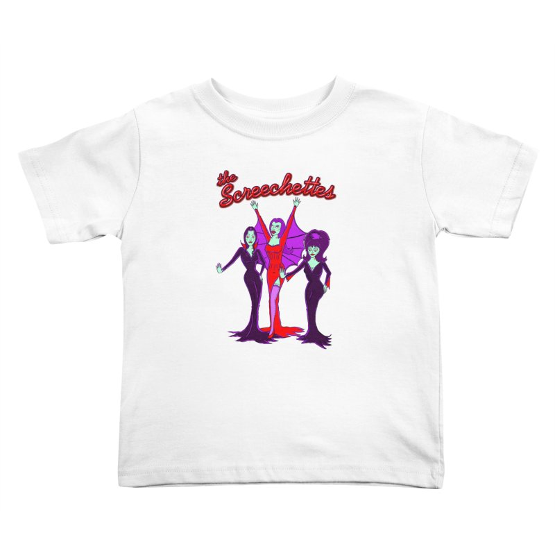 The Screechettes Kids Toddler T-Shirt by John D-C's Artist Shop