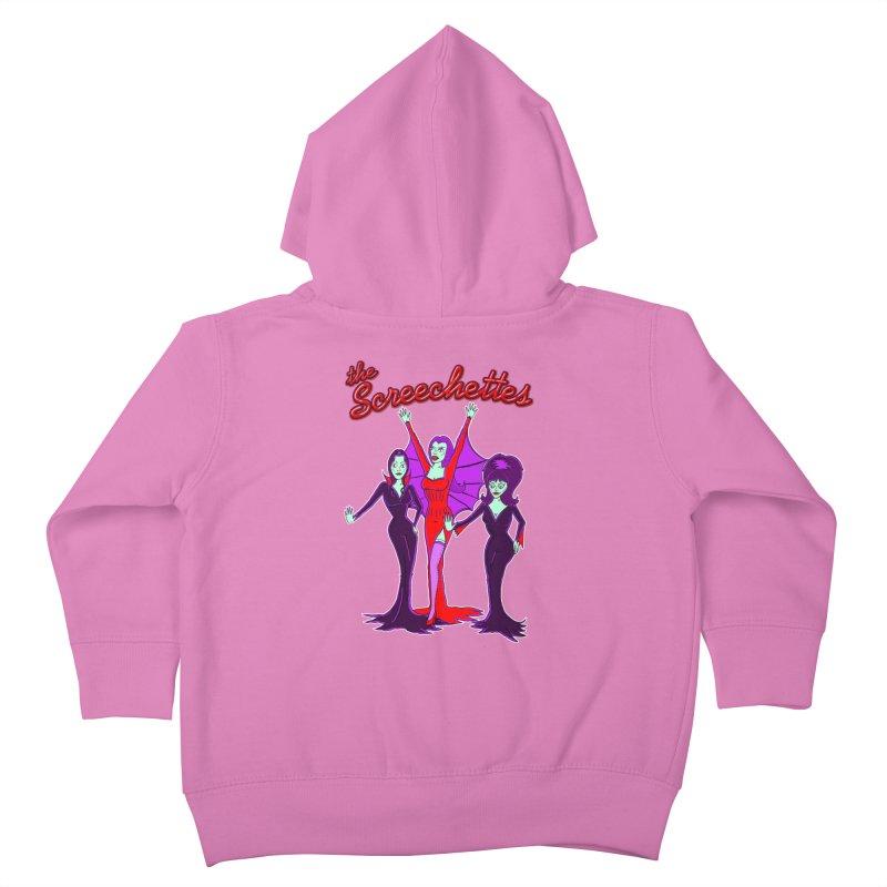 The Screechettes Kids Toddler Zip-Up Hoody by John D-C's Artist Shop