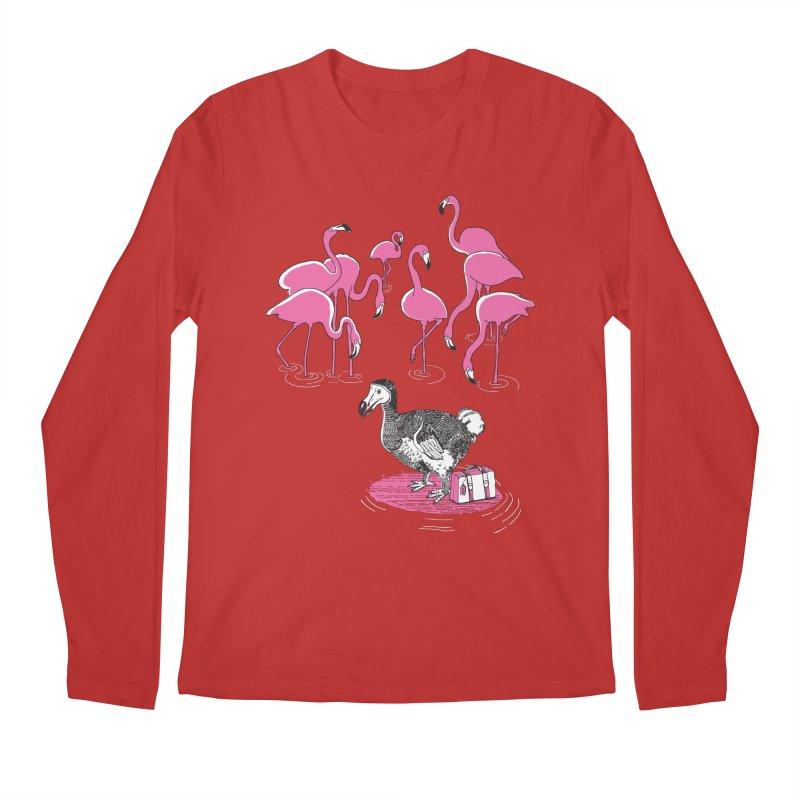 and the Flamingoes Celebrated Men's Regular Longsleeve T-Shirt by John D-C