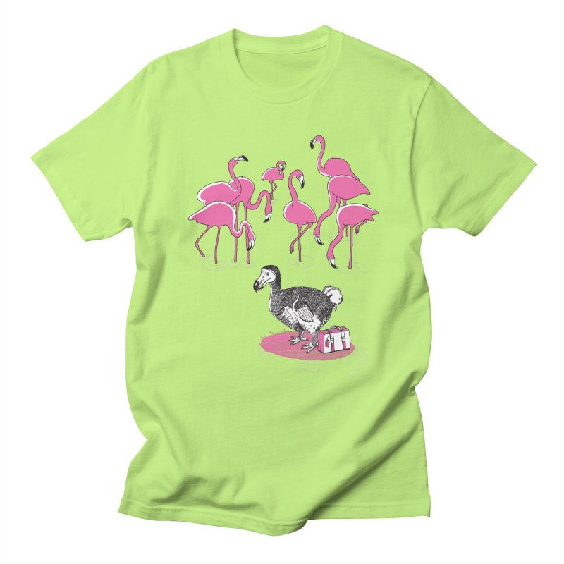 and the Flamingoes Celebrated Men's Regular T-Shirt by John D-C