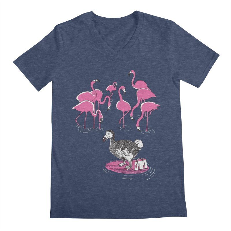 and the Flamingoes Celebrated   by John D-C's Artist Shop