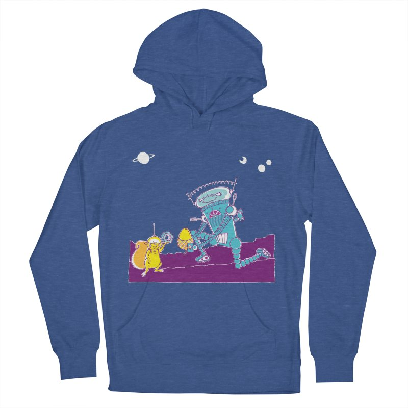 Nuts! You've Got My Nuts, I've Got Yours! Women's French Terry Pullover Hoody by John D-C's Artist Shop