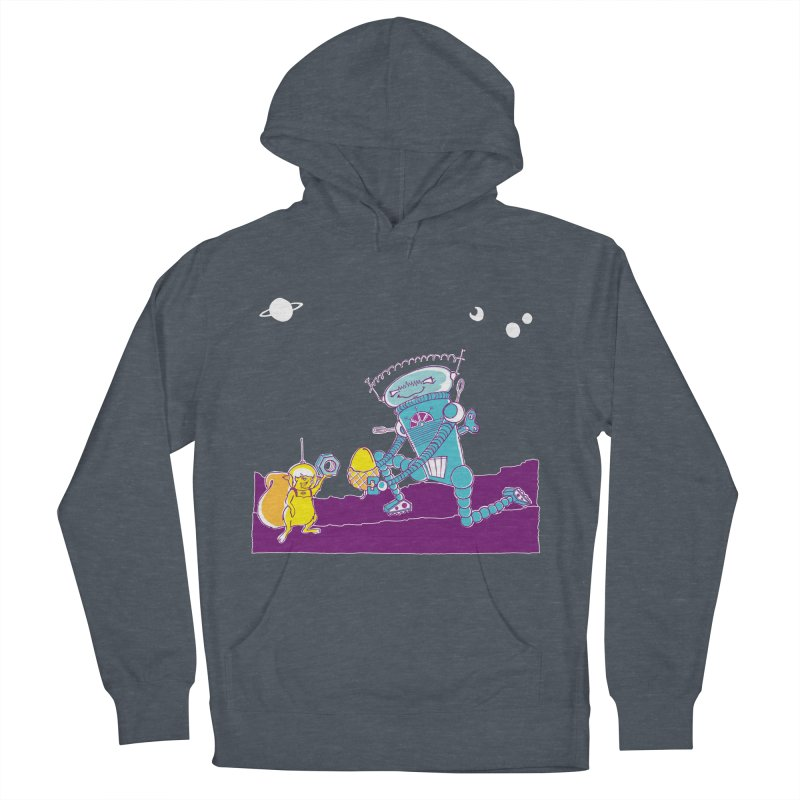 Nuts! You've Got My Nuts, I've Got Yours! Men's French Terry Pullover Hoody by John D-C's Artist Shop