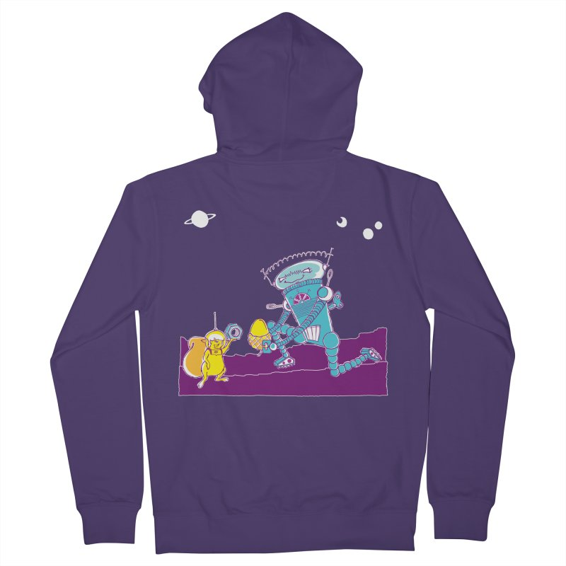Nuts! You've Got My Nuts, I've Got Yours! Women's French Terry Zip-Up Hoody by John D-C's Artist Shop