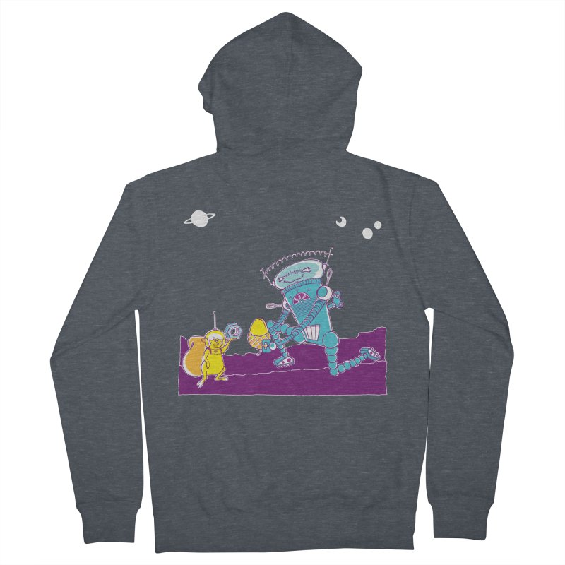 Nuts! You've Got My Nuts, I've Got Yours! Men's Zip-Up Hoody by John D-C's Artist Shop