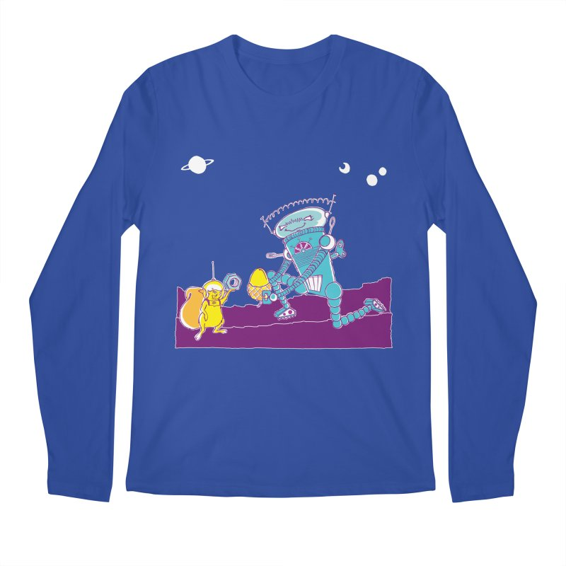 Nuts! You've Got My Nuts, I've Got Yours! Men's Longsleeve T-Shirt by John D-C's Artist Shop