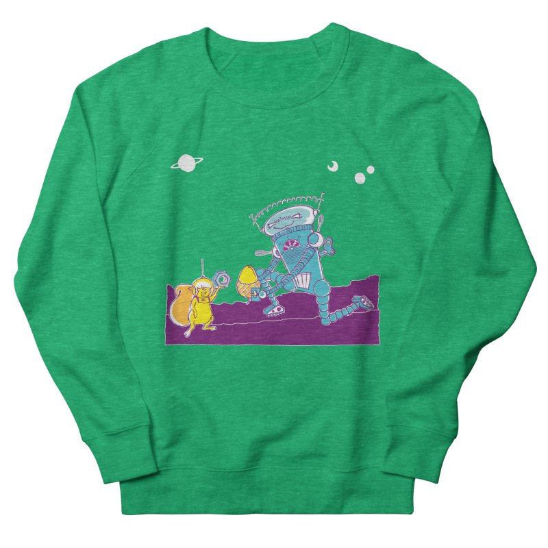 Nuts! You've Got My Nuts, I've Got Yours! Men's French Terry Sweatshirt by John D-C's Artist Shop