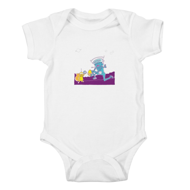 Nuts! You've Got My Nuts, I've Got Yours! Kids Baby Bodysuit by John D-C's Artist Shop