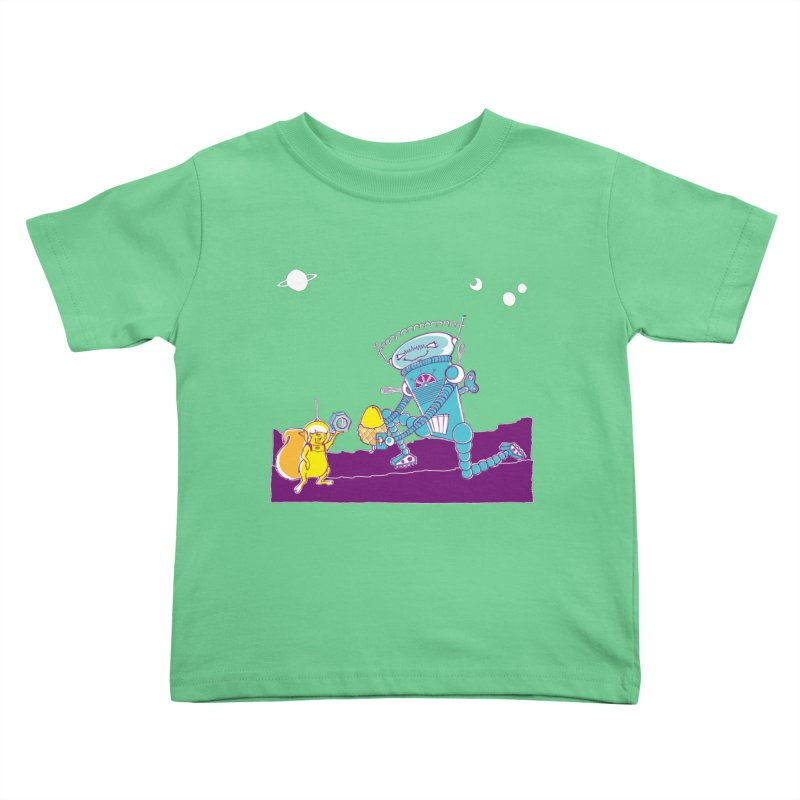 Nuts! You've Got My Nuts, I've Got Yours! Kids Toddler T-Shirt by John D-C's Artist Shop
