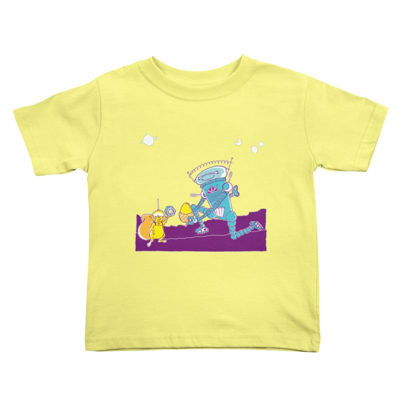 Nuts! You've Got My Nuts, I've Got Yours! Kids Toddler T-Shirt by John D-C's Artist Shop