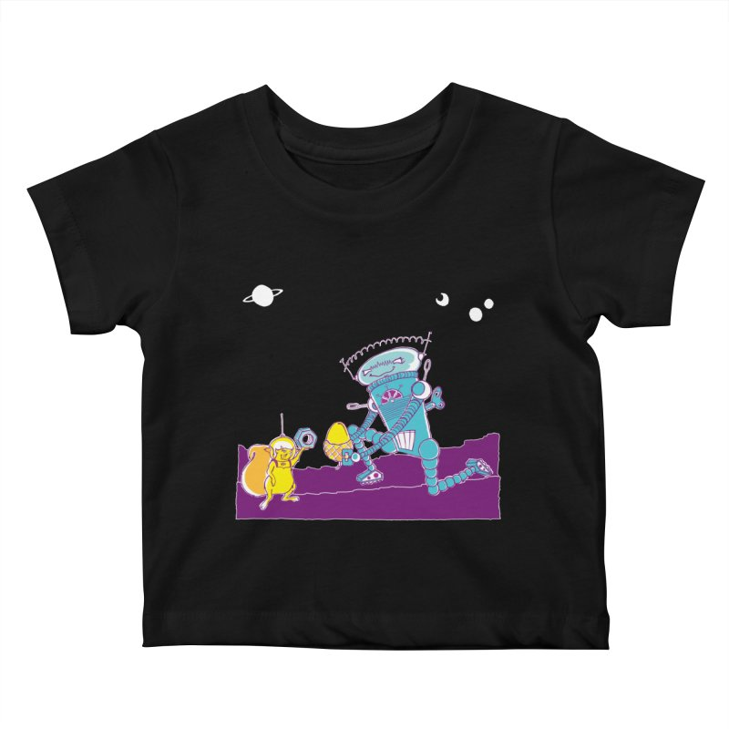 Nuts! You've Got My Nuts, I've Got Yours! Kids Baby T-Shirt by John D-C's Artist Shop