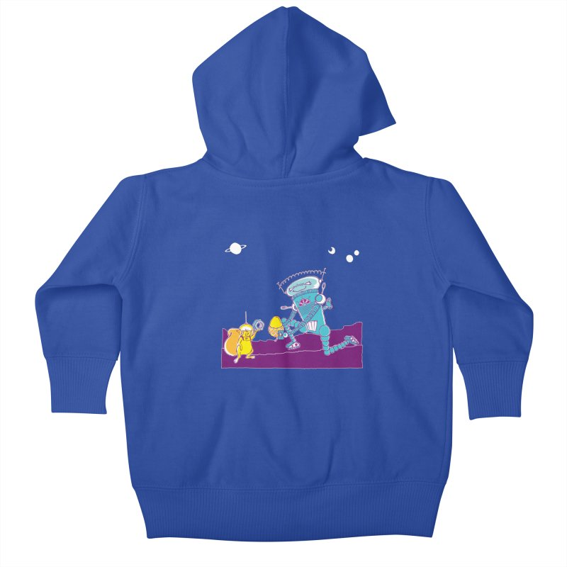 Nuts! You've Got My Nuts, I've Got Yours! Kids Baby Zip-Up Hoody by John D-C