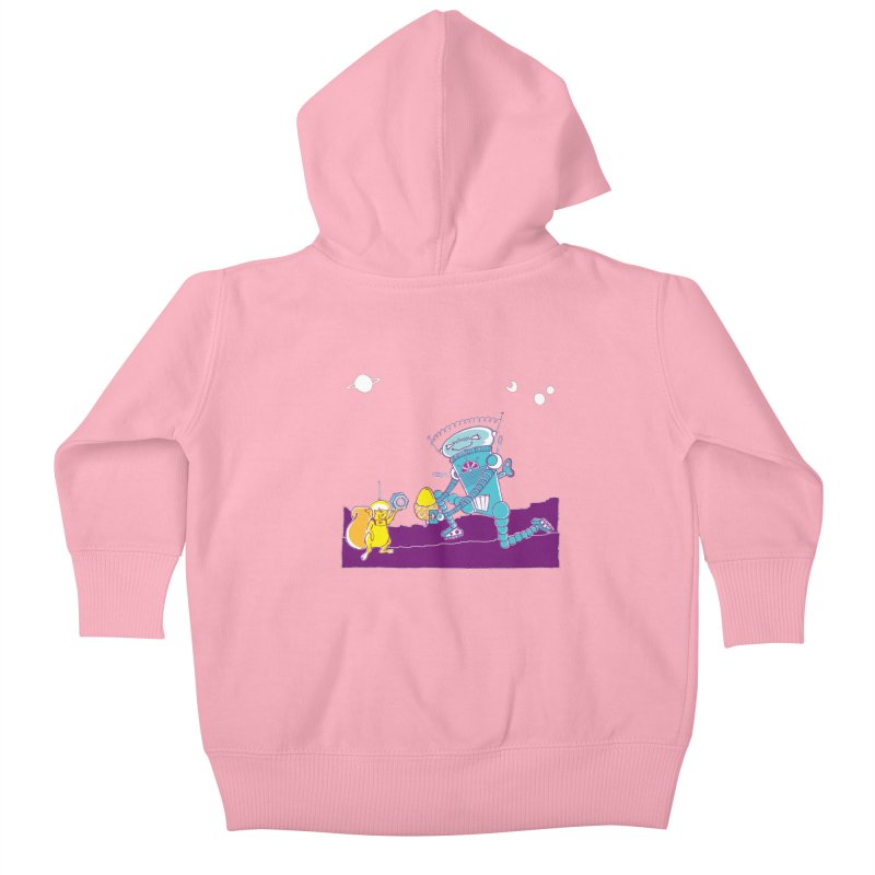 Nuts! You've Got My Nuts, I've Got Yours! Kids Baby Zip-Up Hoody by John D-C's Artist Shop