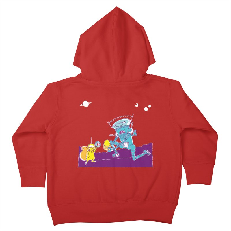 Nuts! You've Got My Nuts, I've Got Yours! Kids Toddler Zip-Up Hoody by John D-C's Artist Shop