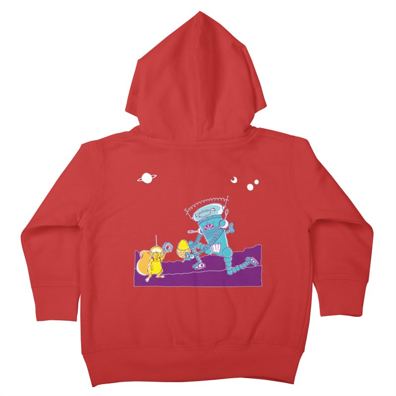 Nuts! You've Got My Nuts, I've Got Yours! Kids Toddler Zip-Up Hoody by John D-C