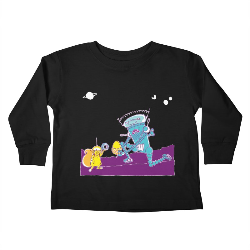 Nuts! You've Got My Nuts, I've Got Yours! Kids Toddler Longsleeve T-Shirt by John D-C