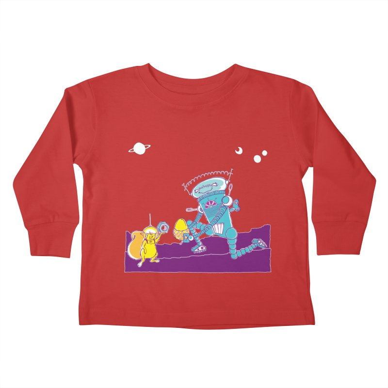 Nuts! You've Got My Nuts, I've Got Yours! Kids Toddler Longsleeve T-Shirt by John D-C's Artist Shop
