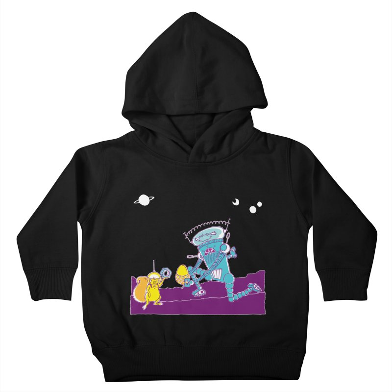 Nuts! You've Got My Nuts, I've Got Yours! Kids Toddler Pullover Hoody by John D-C's Artist Shop