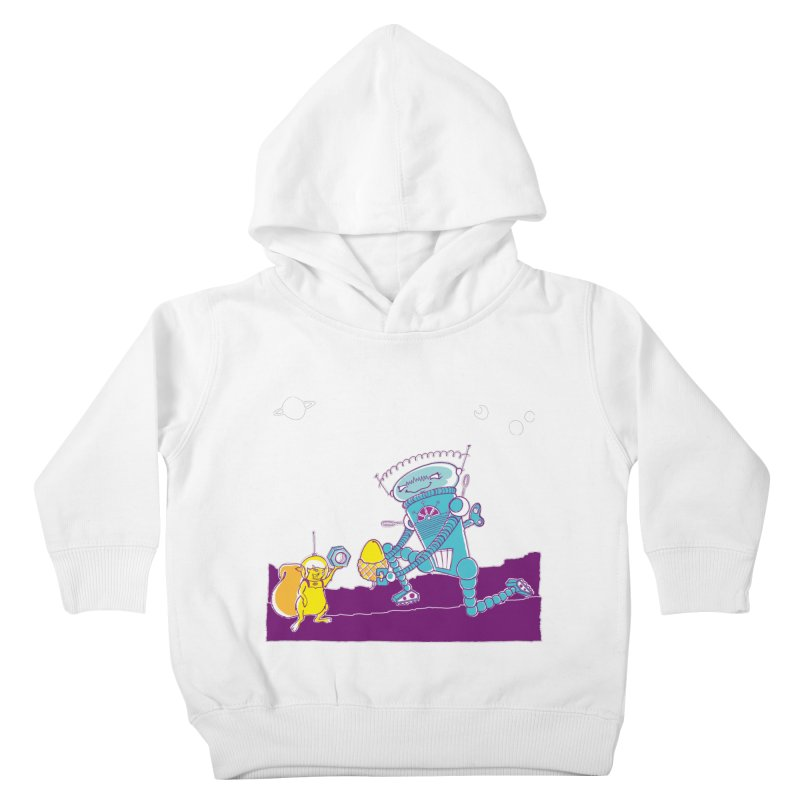 Nuts! You've Got My Nuts, I've Got Yours! Kids Toddler Pullover Hoody by John D-C