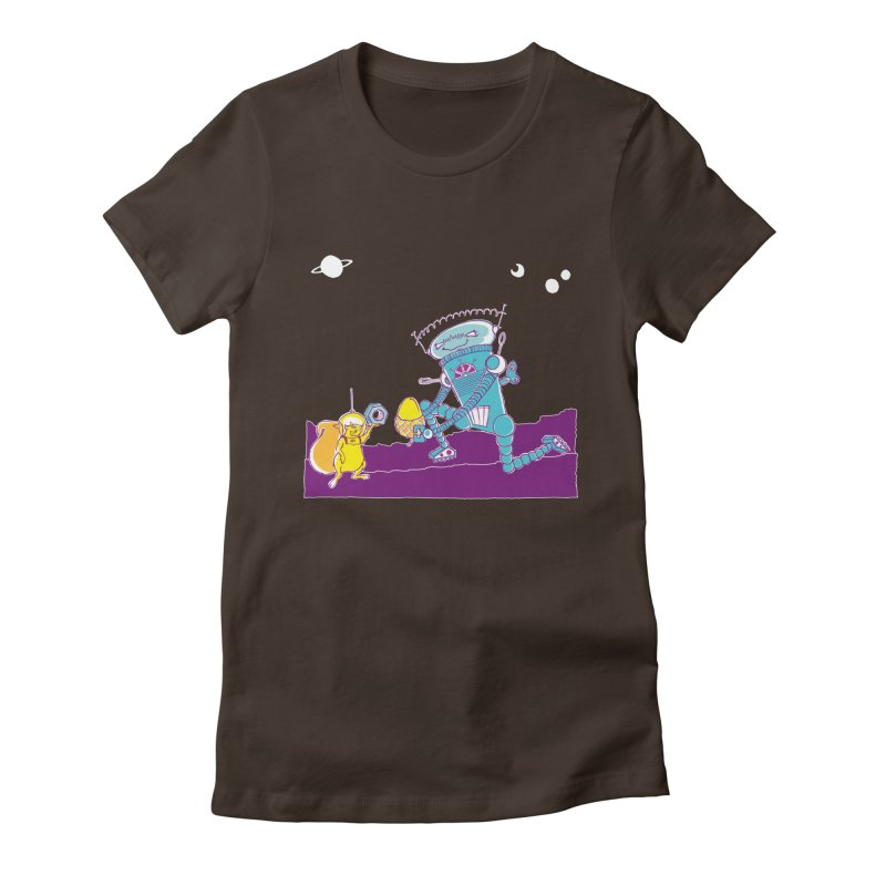 Nuts! You've Got My Nuts, I've Got Yours! Women's Fitted T-Shirt by John D-C's Artist Shop
