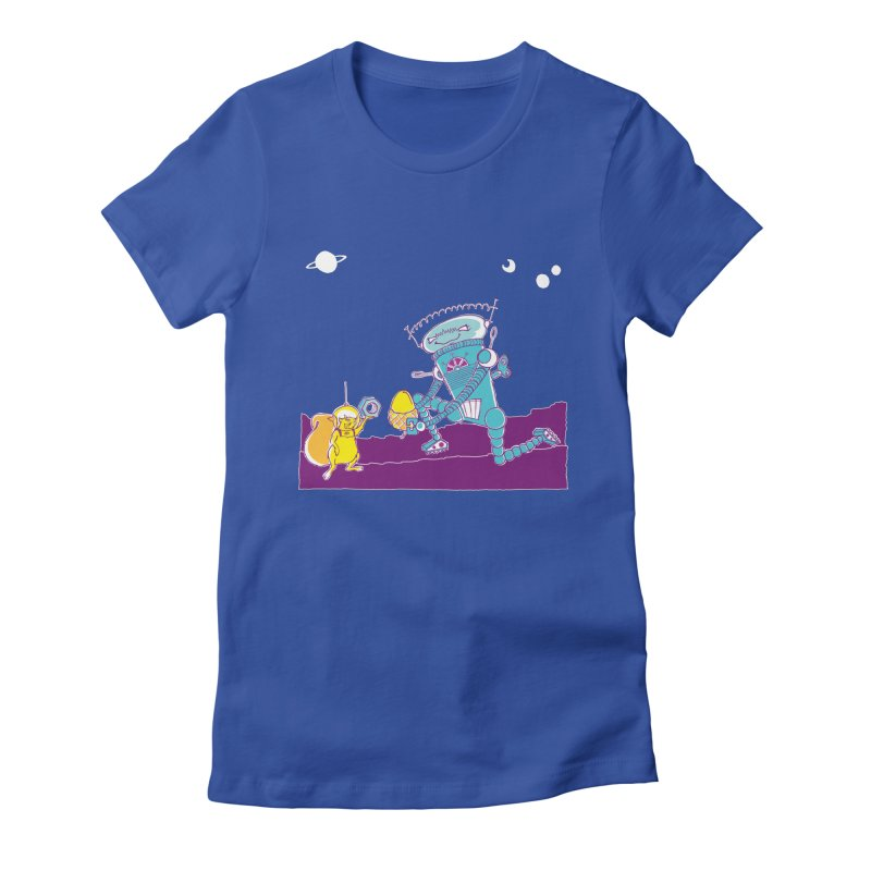 Nuts! You've Got My Nuts, I've Got Yours! Women's Fitted T-Shirt by John D-C
